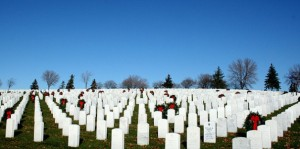 Fort Snelling National Cemetery (FSNC) is the home of the first all-volunteer Memorial Rifle Squad in the National Cemetery Administration