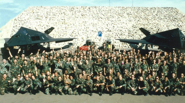 Photo of soldiers in the Gulf War