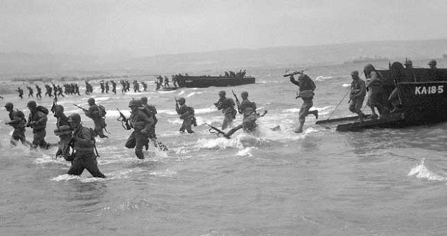 Invasion on D-Day