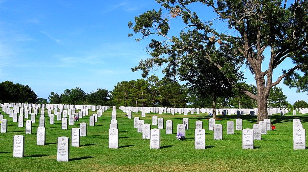 Photo of the Houston National Cemetery