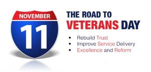 ROAD TO VETERANS DAY RAPHIC