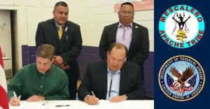 MOU Signing Ceremony Mescalero Apache Tribe and VA