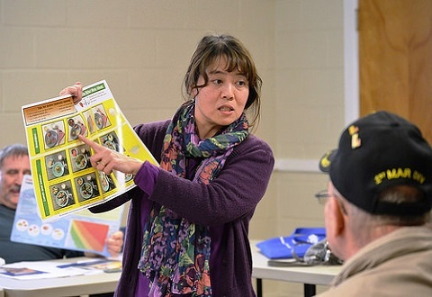 A MOVE! instructor helps Veterans in Virginia