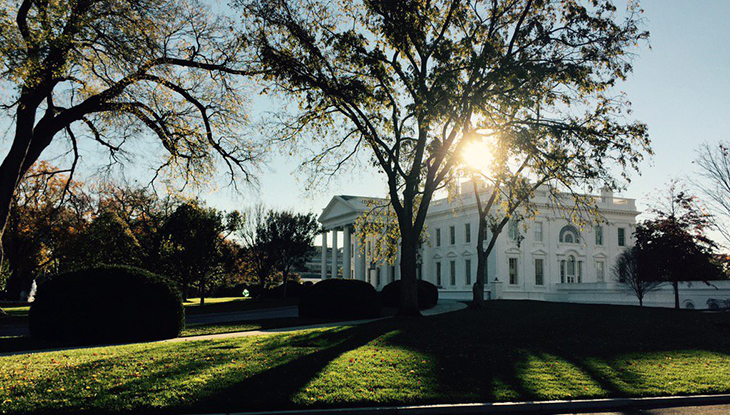 The White House - photo by Kellie Meyer, Gray TV.