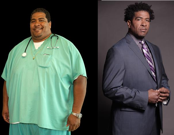 John robinson before & after weight loss