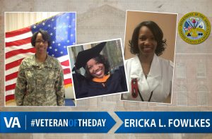 Veteran of the day Ericka-Fowlkes