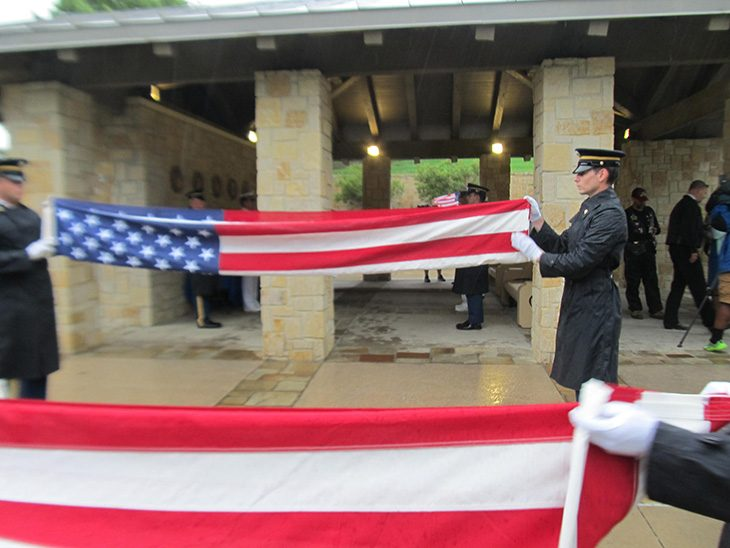 image of Texas National Guard Funeral Detail
