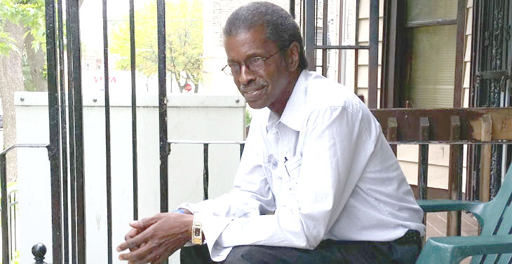 Image of Chicago Army Veteran Johnnie Mims, 60, a formerly homeless Veteran.