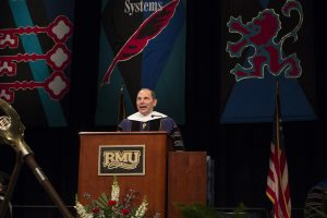 Secretary McDonald delivers RMU commencement address
