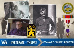Veteran of the day mike reuter