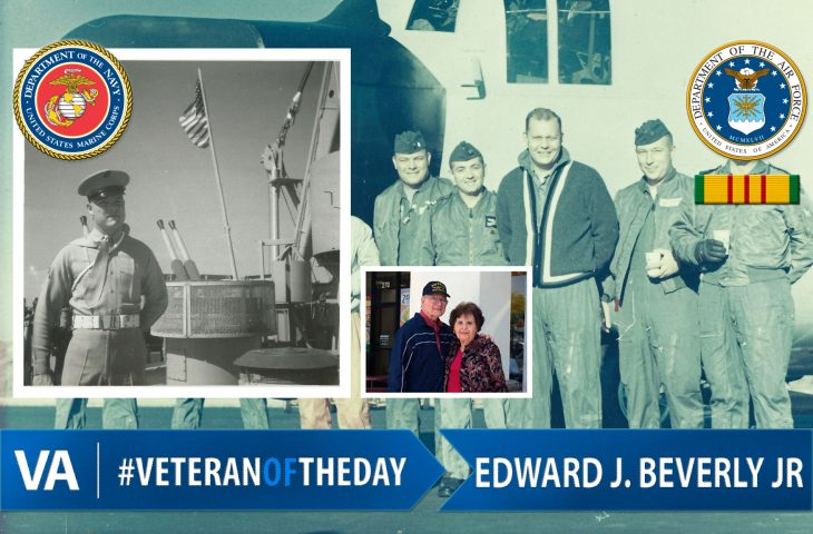 Veteran of the day Edward Beverly