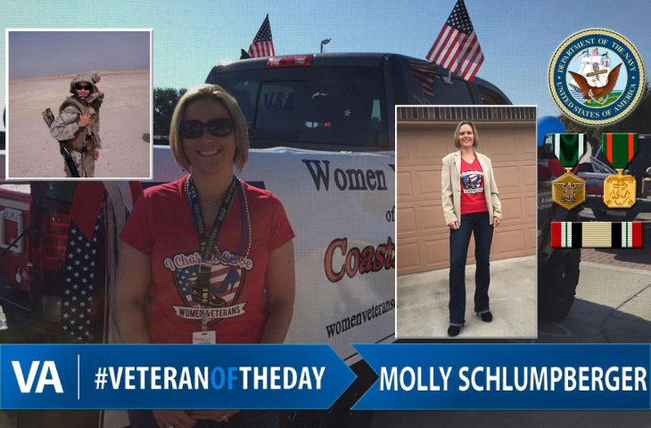 Veteran of the day Molly Schlumpberger