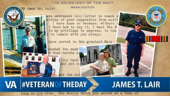Veteran of the day James Lair