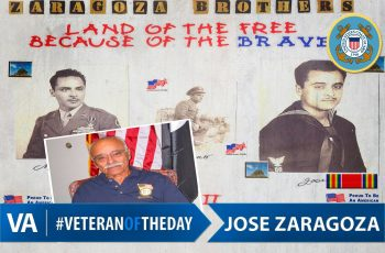 Veteran of the Day Jose Zaragoza