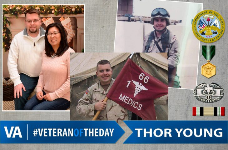 Veteran of the day Thor Young