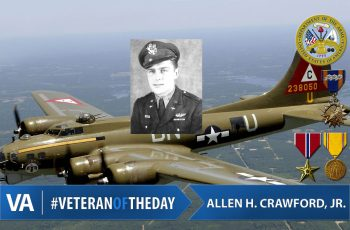 Veteran of the Day Allen Crawford