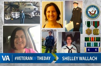 Veteran of the day Shelley Wallach