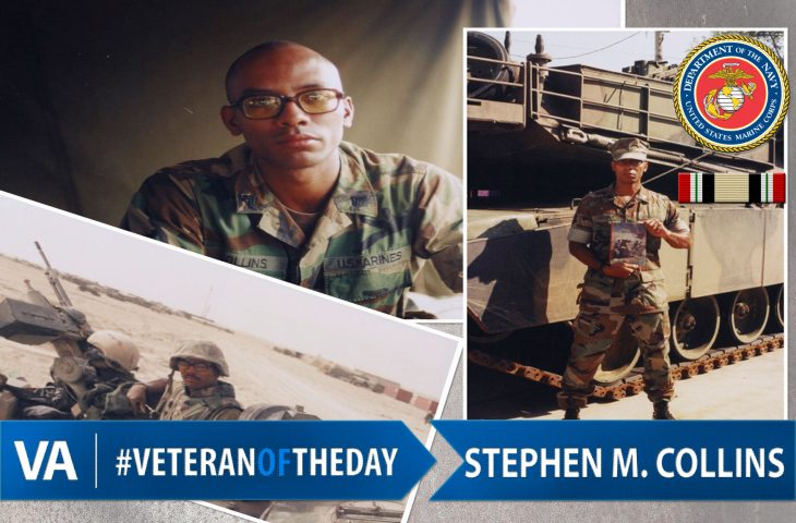 Stephen M Collins - Veteran of the Day