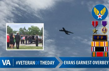 Veteran of the Day Evans Earnest Overbey