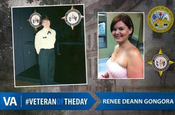 Veteran of the Day Renee Gongora