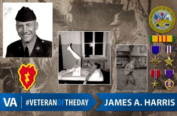 Veteran of the Day James A. Harris