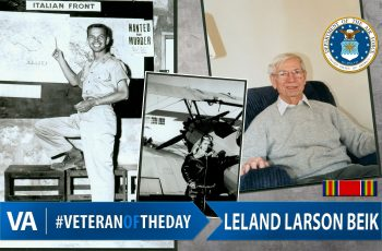 Leland Larson Beik - Veteran of the Day