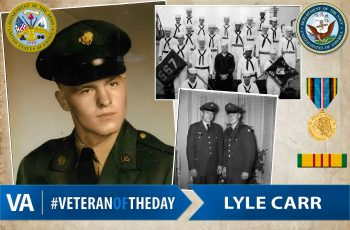 Lyle Carr - Veteran of the Day