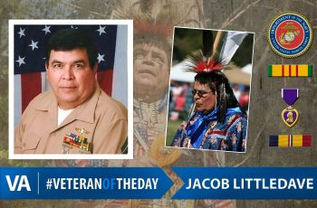 Jacob Littledave - Veteran of the Day