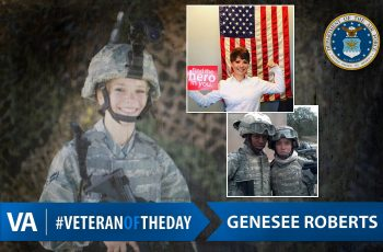 Veteran of the Day Genesee Roberts