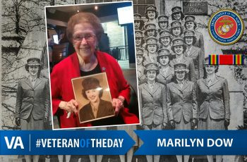 Veteran of the Day Marilyn Dow