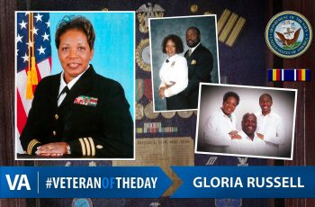 Veteran of the Day Gloria Russell