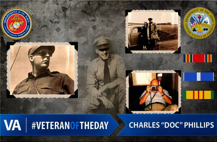 Charles Phillips - Veteran of the Day