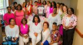 Ginger Miller, founder and CEO of Women Veterans Interactive at the Pink and White Breakfast