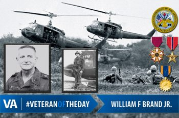 William F. Brand Jr. - Veteran of the Day