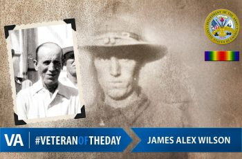 James Alex Wilson - Veteran of the Day