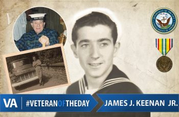 Veteran of the Day James Keenan