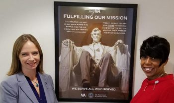 Image of Kayla Williams and Betty Mosley-Brown with the new poster