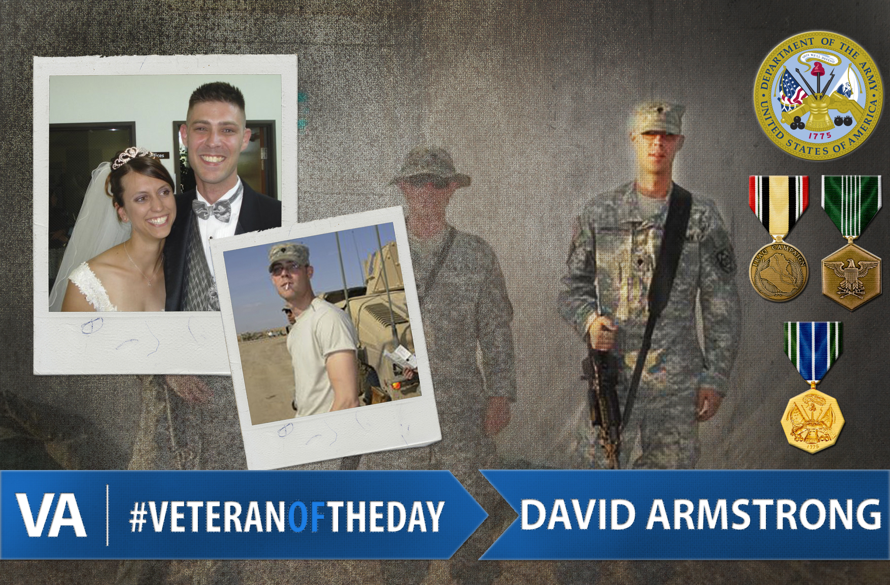 David Armstrong - Veteran of the Day