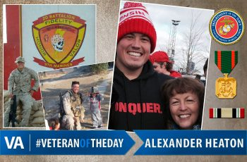 Alexander Heaton - Veteran of the Day