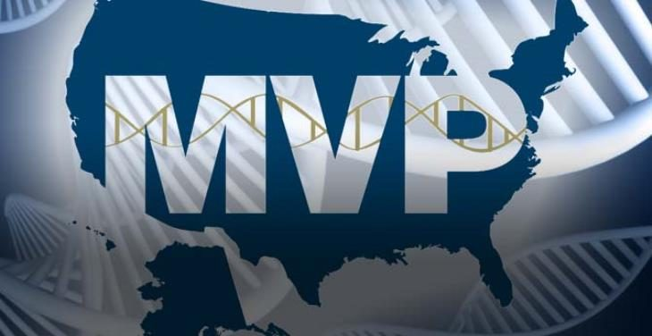 image of the MVP logo over a map of the United States