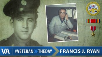 Veteran of the Day Francis Ryan