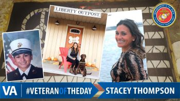 Stacey Thompson - Veteran of the Day