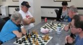 image of Veterans playing chess
