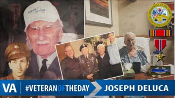 Veteran of the Day Joseph Deluca
