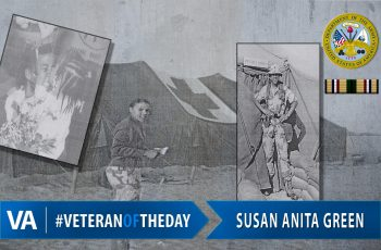 Veteran of the Day Susan Anita Green