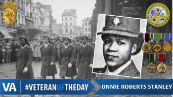 Onnie Roberts Stanley - Veteran of the Day