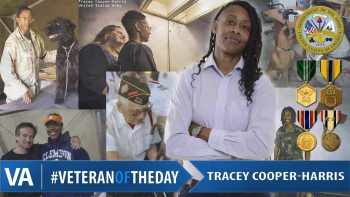 Tracey Cooper-Harris - Veteran of the Day