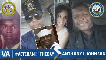 Veteran of the Day Anthony Johnson