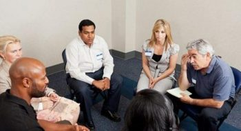 Image of a support group meeting.