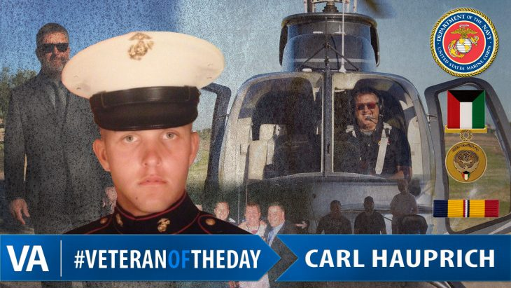 Carl Hauprich - Veteran of the Day